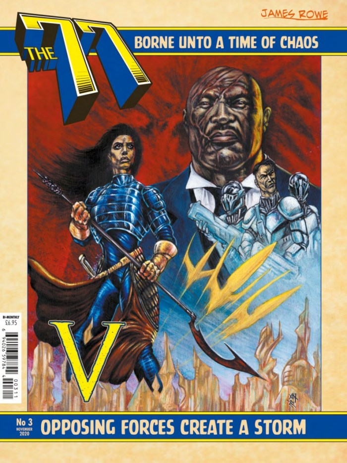 The77 Issue 3 - Main Cover