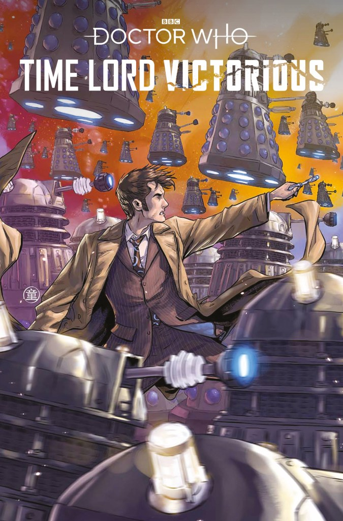 Doctor Who - Time Lord Victorious #2 Cover A by Andie Tong