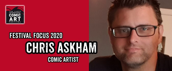 Lakes Festival Focus 2020: Comic Artist Chris Askham