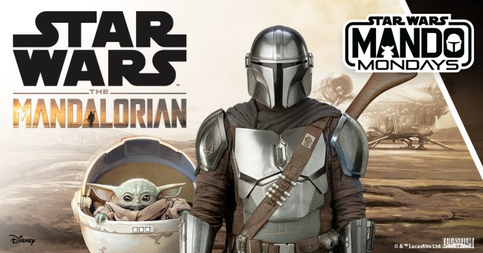 "The Mandalorian ""Mando Mondays"""