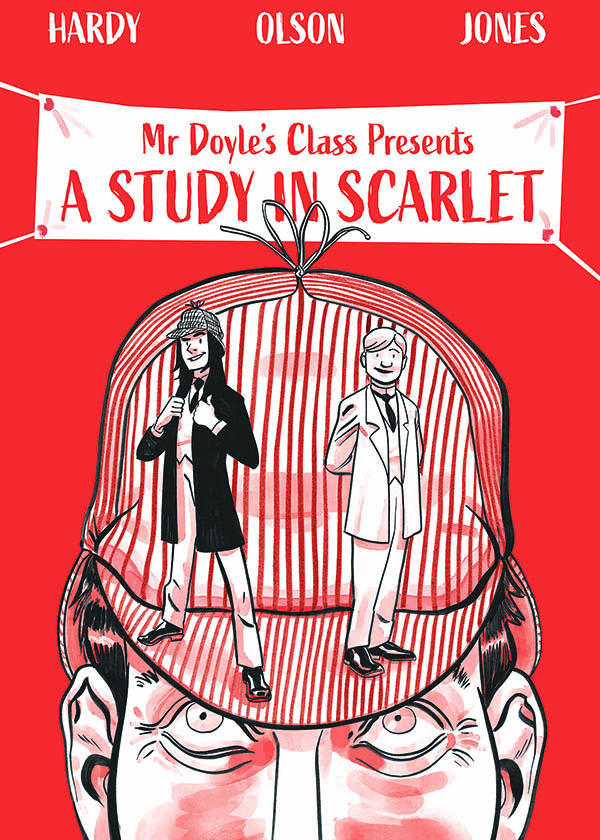 """Mr Doyle's Class Presents """"A Study in Scarlet"""""""