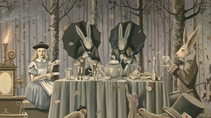 Alice's Adventures in Wonderland - art by David Delamare