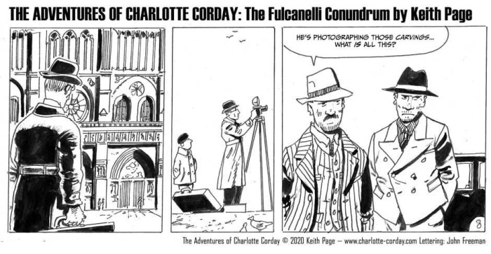 The Adventures of Charlotte Corday: The Fulcanelli Conundrum by Keith Page