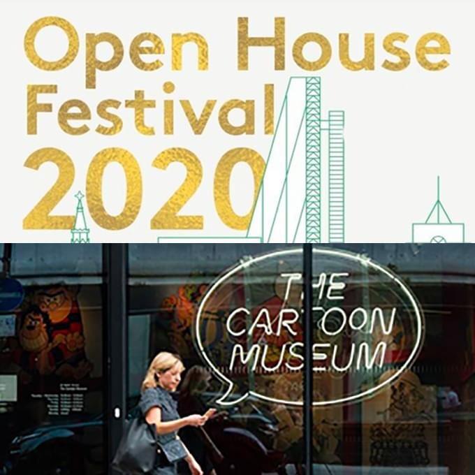 Open House Festival 2020 - Cartoon Museum
