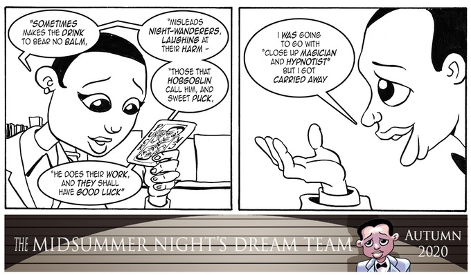 Midsummer Night's Dream Team - The Graphic Novel by Kev F. Sutherland