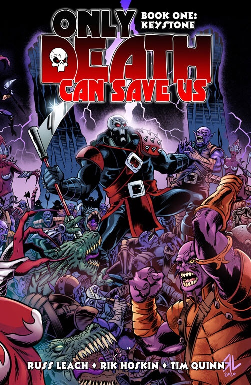 Only Death Can Save Us Book One: Keystone - Cover