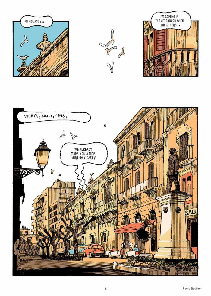 Andrea Camilleri - The Devil's Smell - Comic Adaptation - art by Paolo Bacillieri