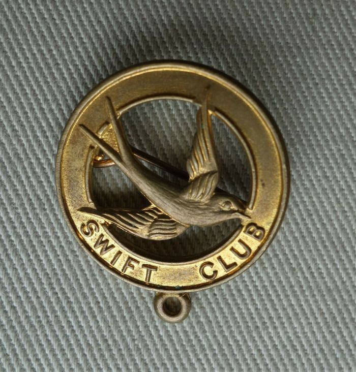 A Swift Club Badge from the 1950s