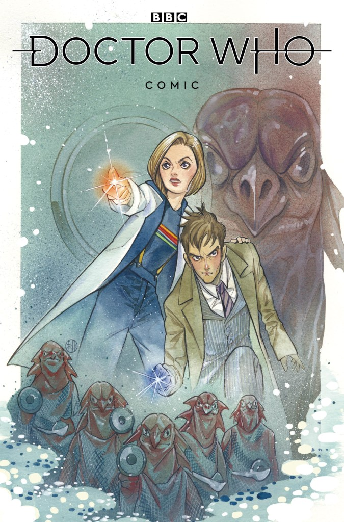 Doctor Who #1 - 2020 - Cover A by Peach Momoko