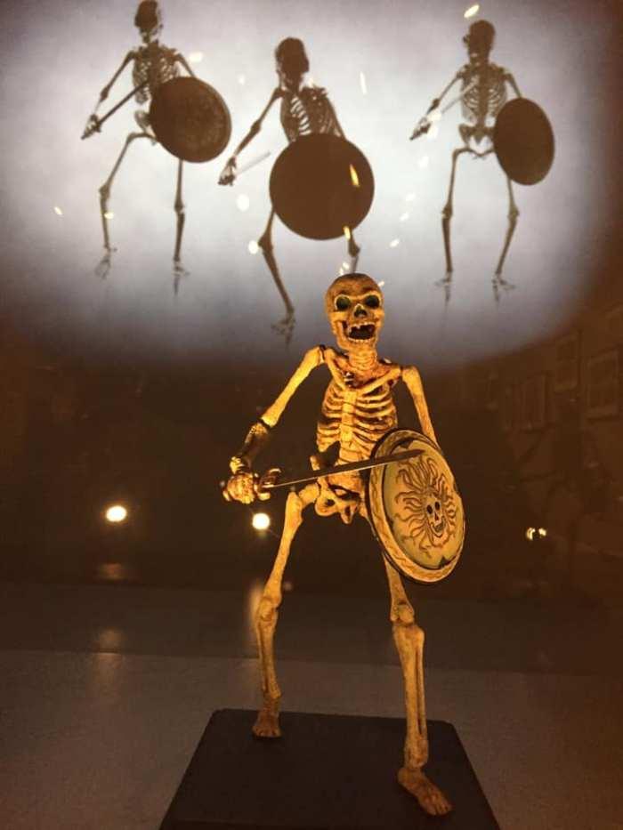 A skeleton model from Jason and The Argonauts. Photo: Gary Erskine