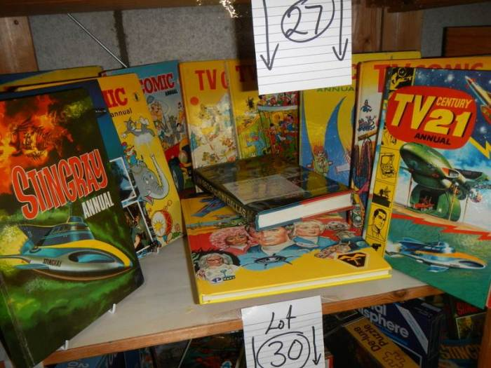 Nottingham Hoard 2020 -TV Comic and TV21 Annuals