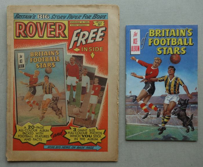 Rover, cover dated 16th November 1963, including Football Stars Album Free Gift