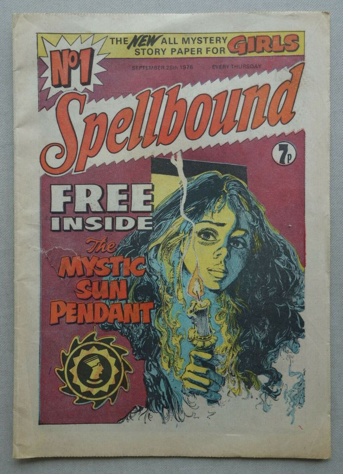 Spellbound No. 1 - cover dated 25th September 1976