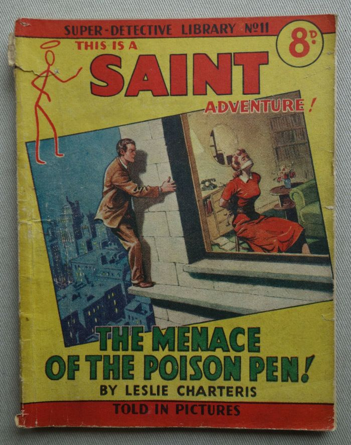 Super Detective Library No. 11 featuring The Saint