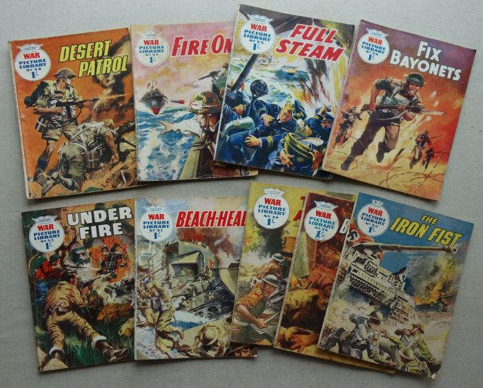 Various issues of War Picture Library (1959 - 1960)