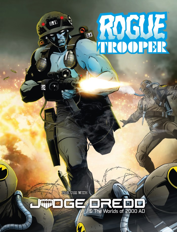 Rogue Trooper Expansion - Judge Dredd & Worlds of 2000AD tabletop roleplaying game - EN Publishing