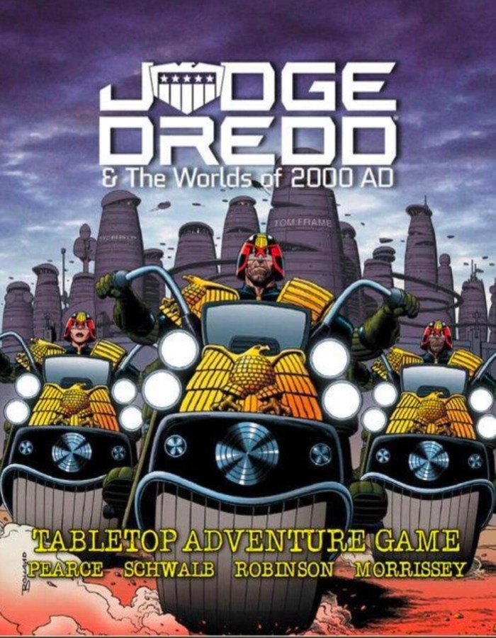 Judge Dredd & Worlds of 2000AD tabletop roleplaying game - EN Publishing