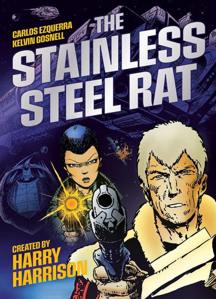 "2000AD - Harry Harrison's ""Stainless Steel Rat"""
