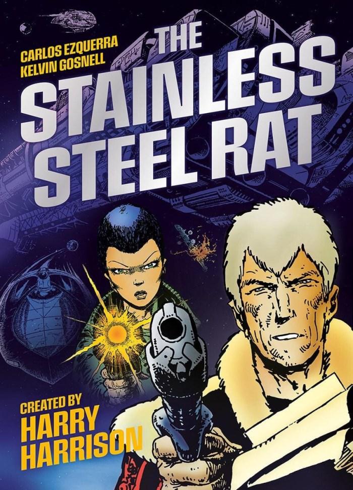 "2000AD - Harry Harrison's ""Stainless Steel Rat"""