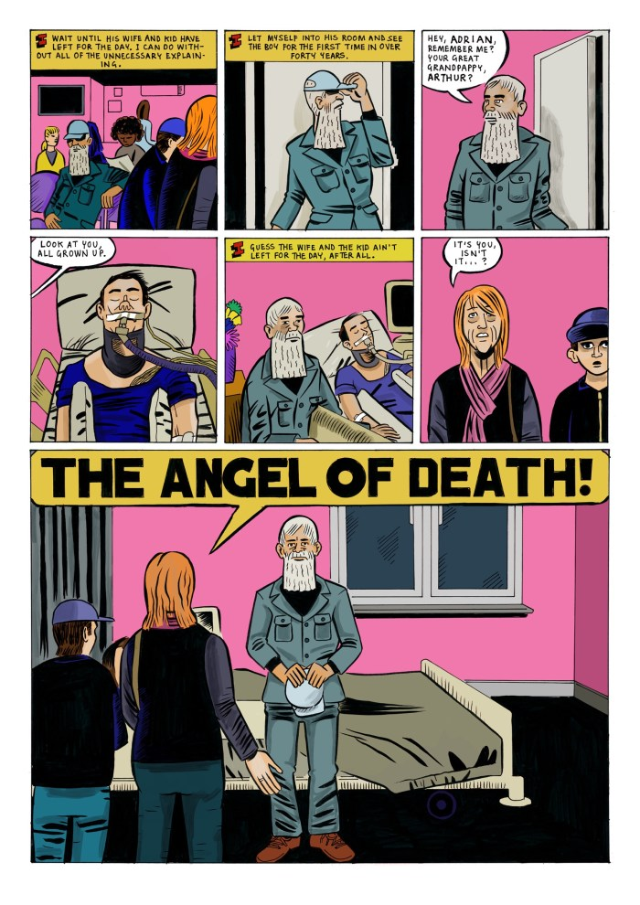The Angel of Death by Paul Rainey