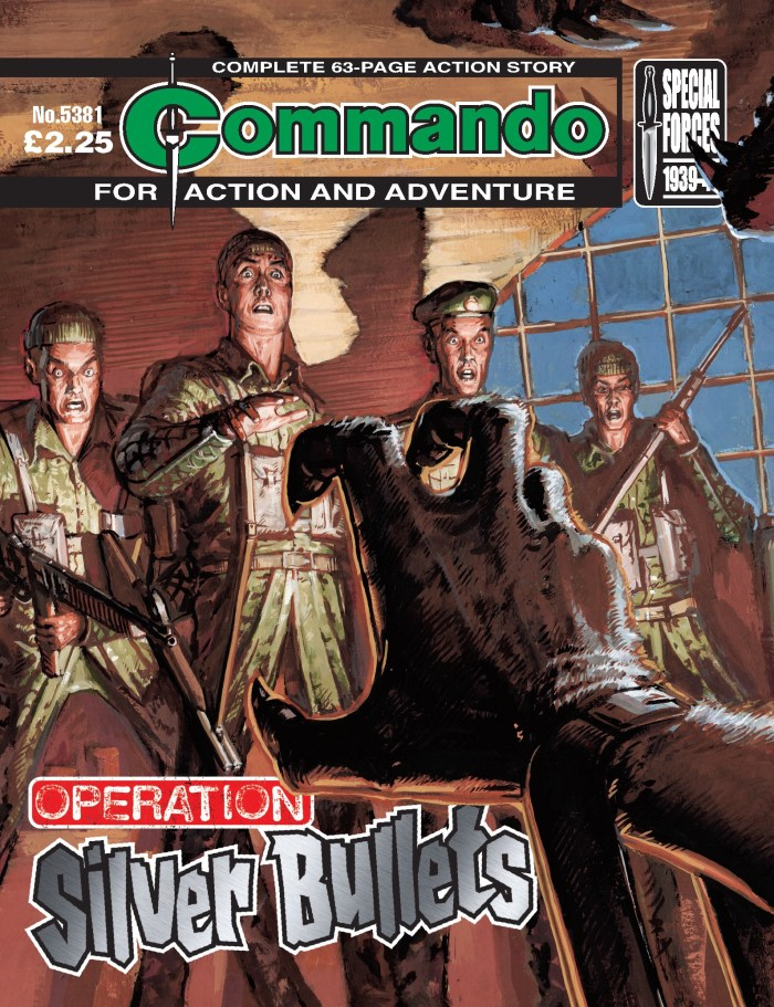 Commando 5381: Action and Adventure: Operation Silver Bullets