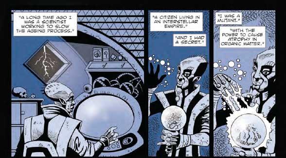 Shaman Kane #6 by David Broughton - Sample Art