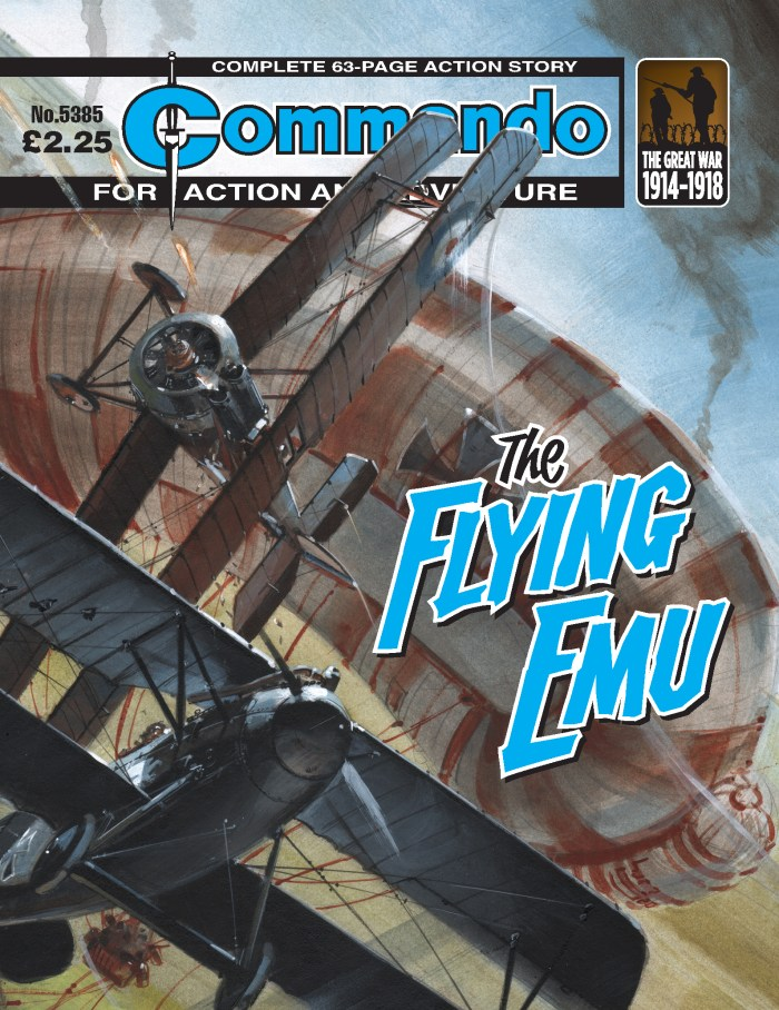 Commando 5385: Action and Adventure: The Flying Emu