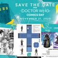 Doctor Who Comics Day 2020 Collage