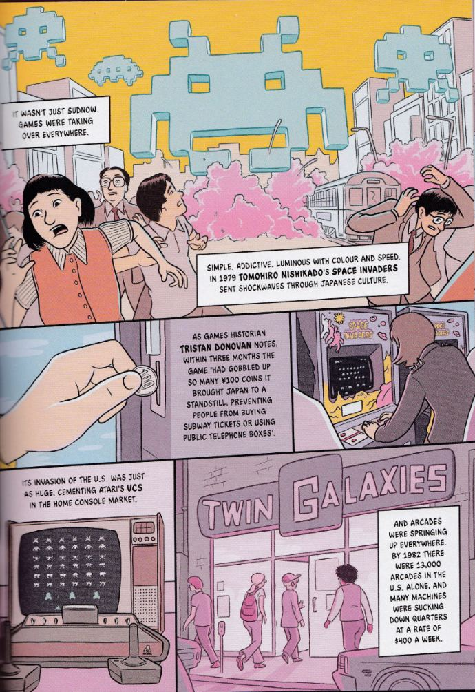 Gamish: A Graphic History of Gaming - Sample Page