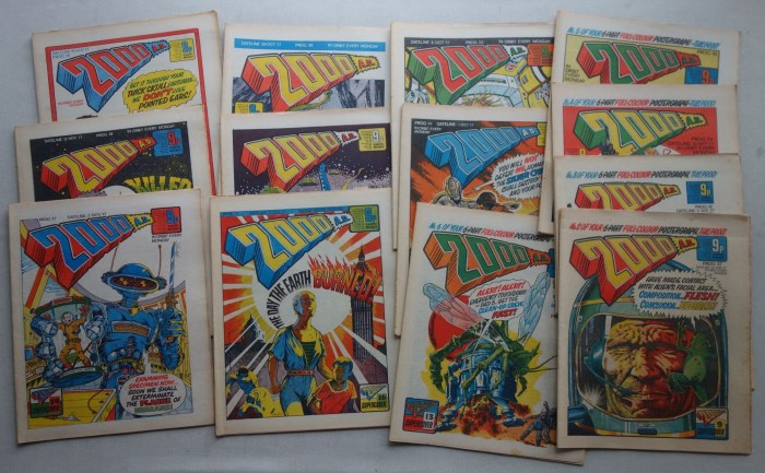 2000AD - Various Early Issues (1978)