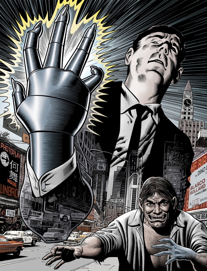 The Steel Claw - 2021 Collection - Hardback Cover by Brian Bolland