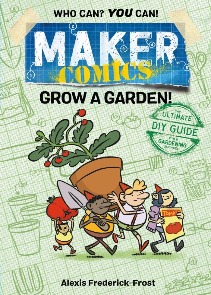 Maker Comics - Grow a Garden