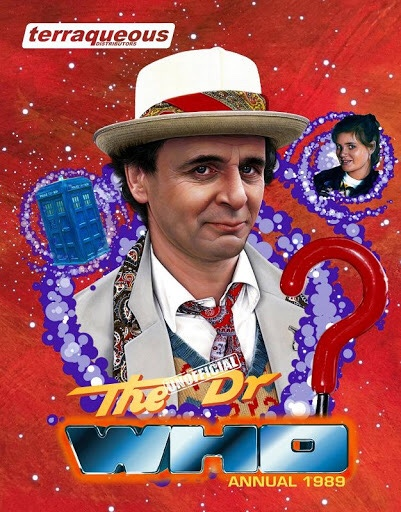 The he Unofficial Dr Who Annual 1989 - Cover