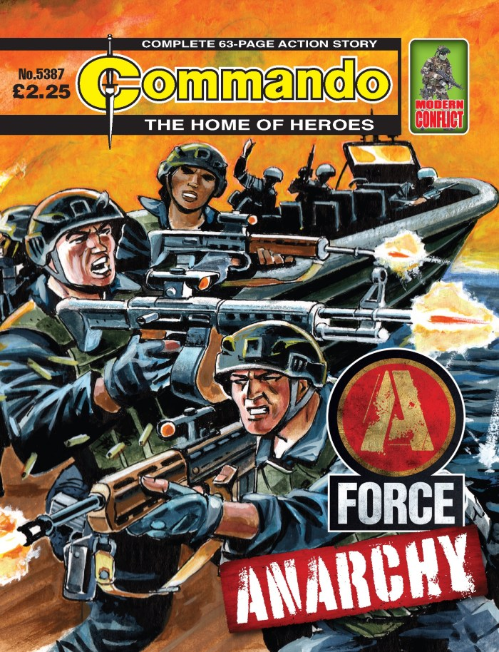 Commando 5387: Home of Heroes: A-Force — Anarchy