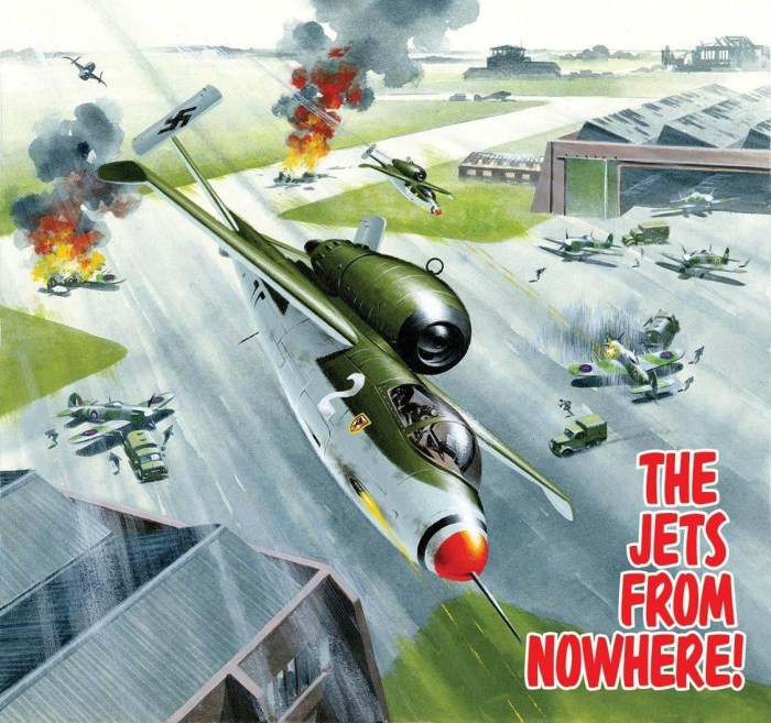 Commando 5390: Silver Collection: The Jets from Nowhere! Full Cover