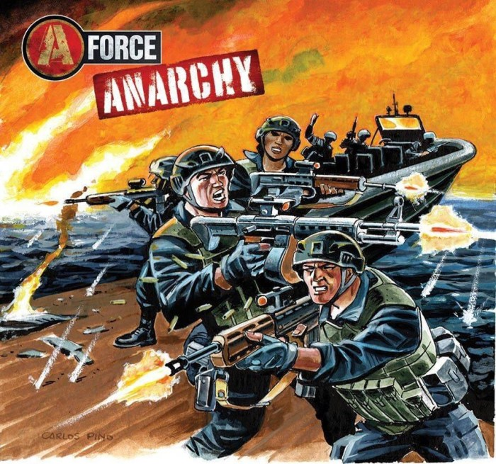 Commando 5387: Home of Heroes: A-Force — Anarchy Full Cover