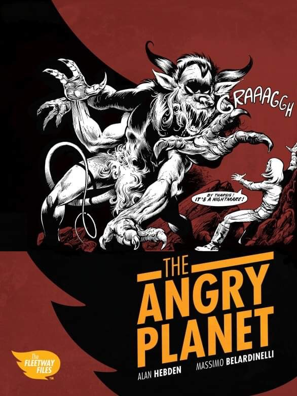 The Angry Planet - Cover
