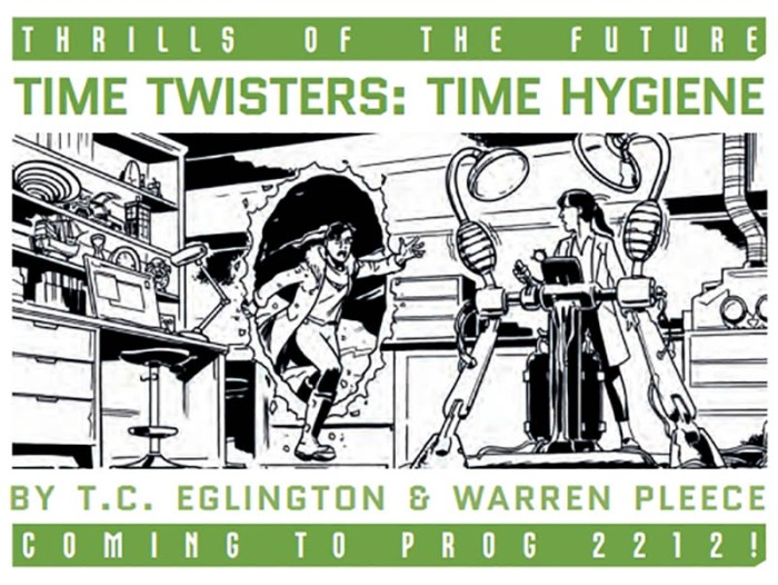 2000AD teases things to come in 2121 - Time Twisters