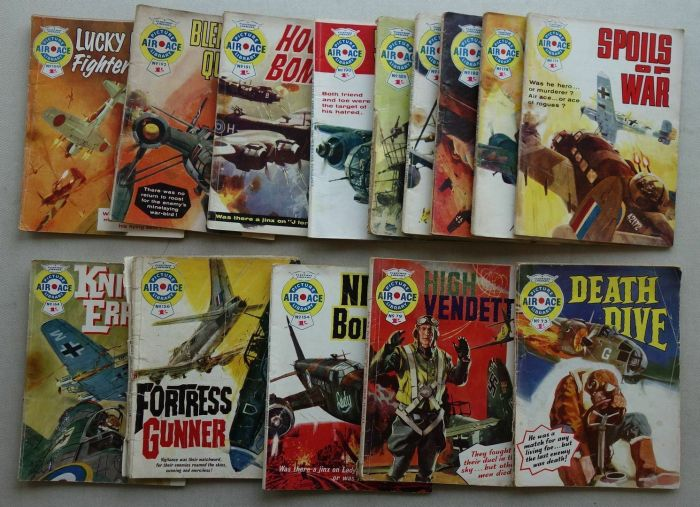Air Ace Picture Library comic #73-199 (1961-1964)