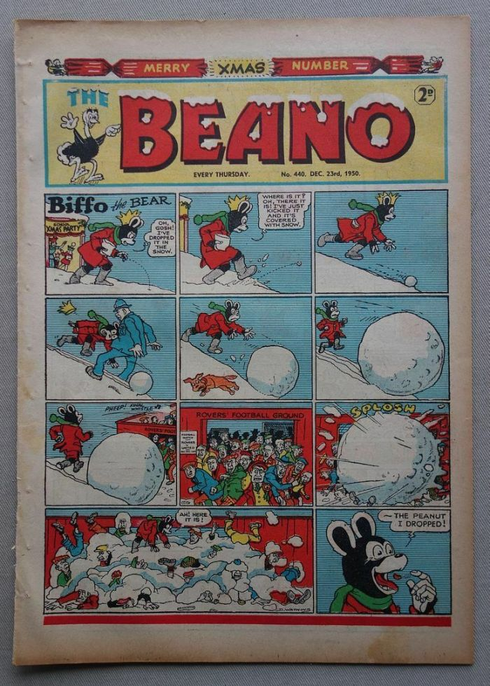 Beano 440 - cover dated 23rd December 1950