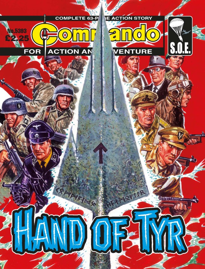 Commando 5393: Action and Adventure: Hand of Tyr