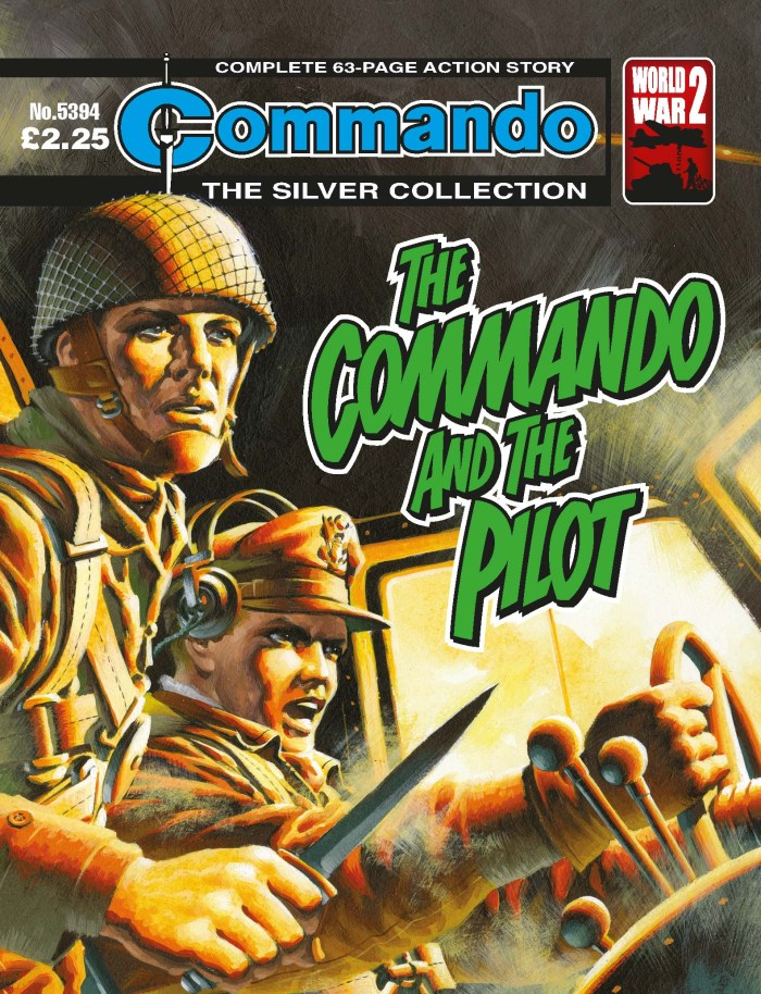 Commando 5394: Silver Collection: The Commando and the Pilot