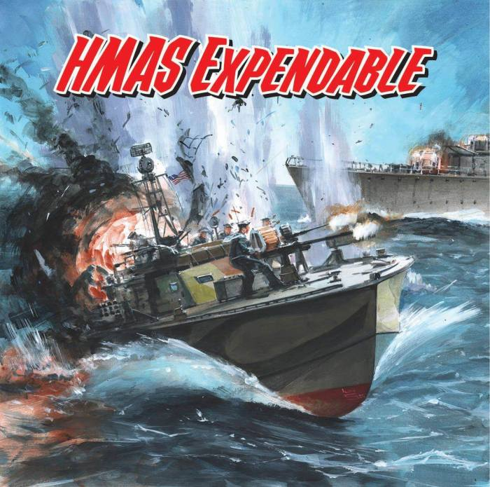 Commando 5395: Home of Heroes: HMAS Expendable - Full