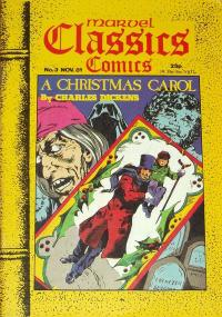Marvel Classic Comics UK #3 - A Christmas Carol