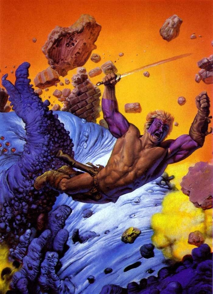 The cover of Bloodstar by Richard Corben