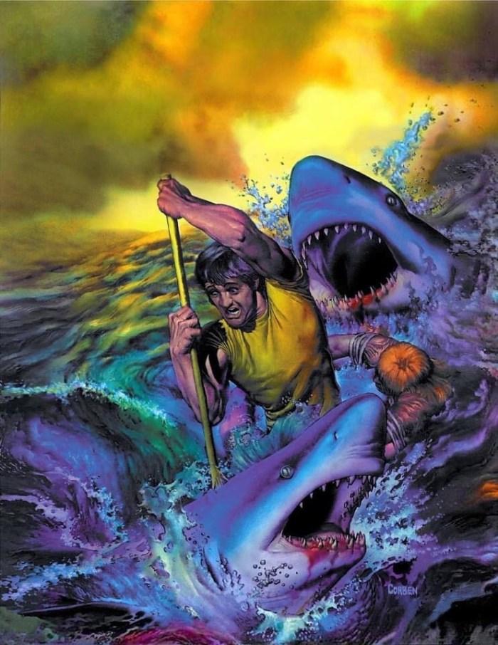 Cover art for Creepy #101 - art by Richard Corben