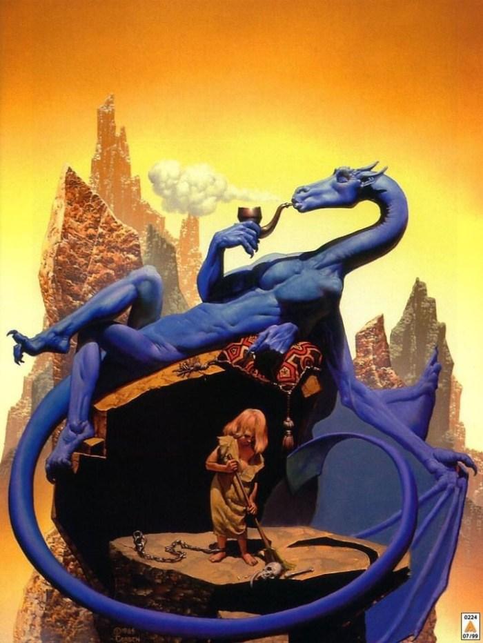 The cover of the Heaven's Gate album, Livin' in Hysteria, art by Richard Corben