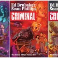 Criminal Deluxe Editions by Ed Brubaker and Sean Phillips