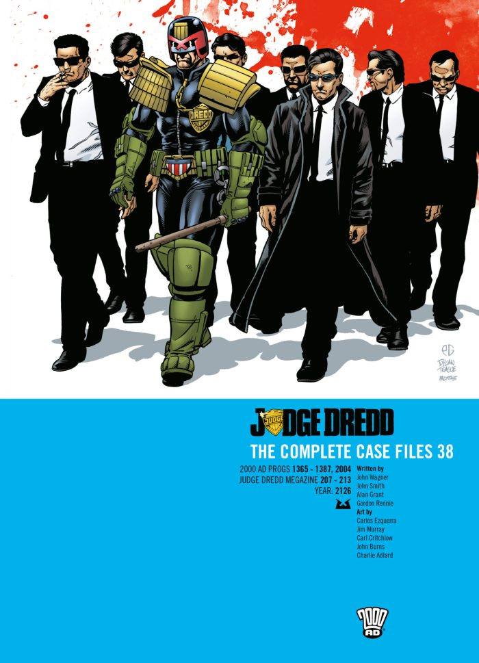 Judge Dredd: The Complete Case Files Volume 38