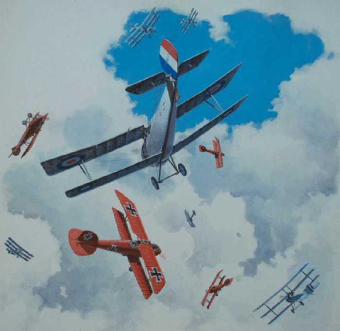 World War One art by Don Harley